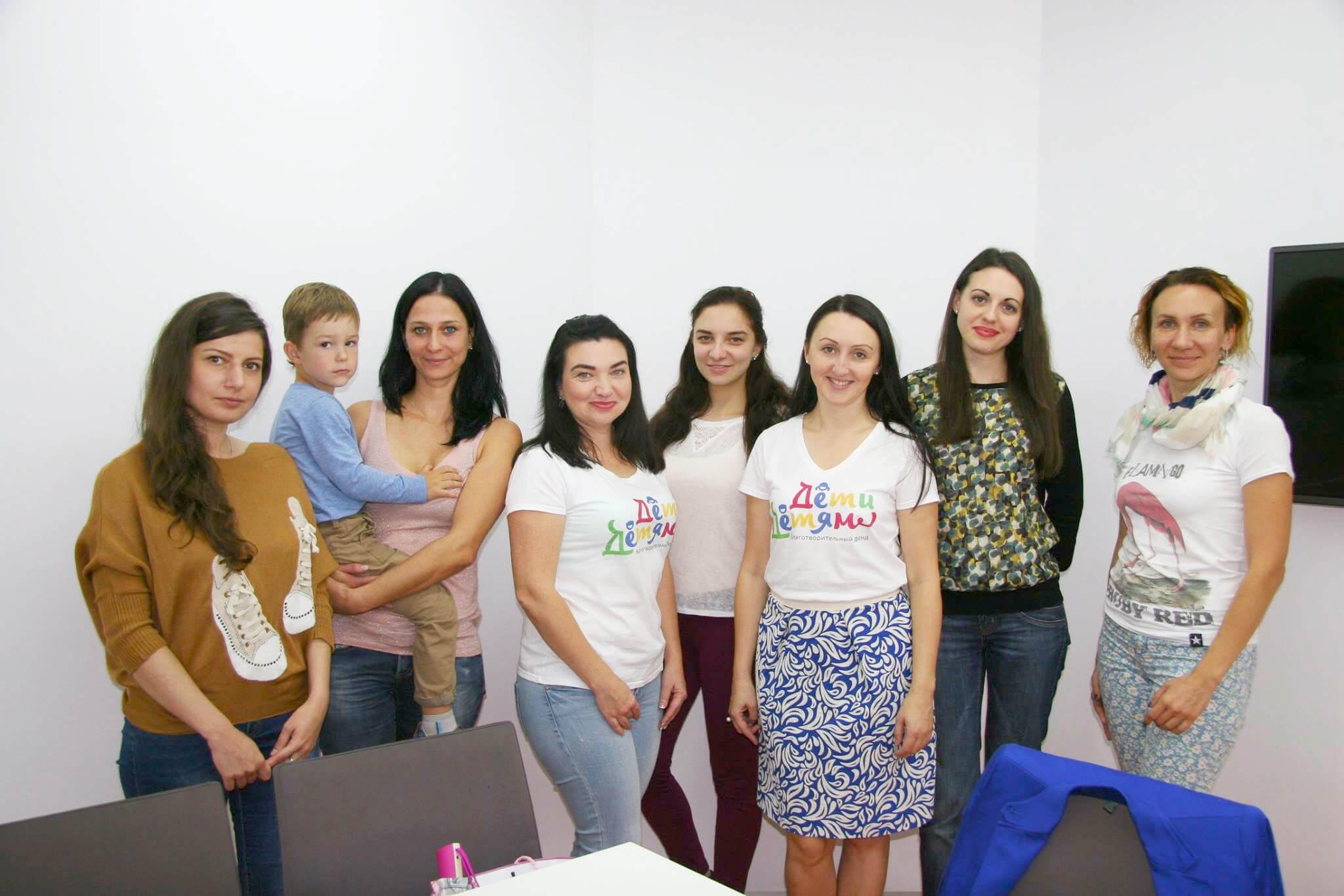 Встреча волонтеров