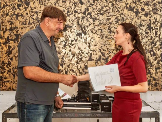Передача фототехники Марьинскому медиа-центру