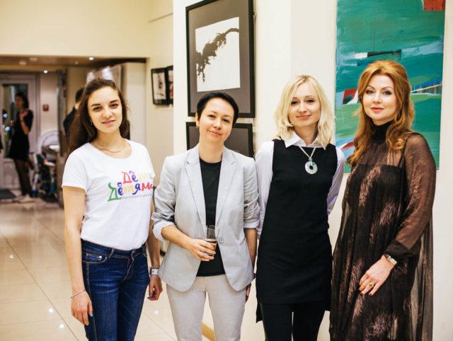 Charity auction of art by czhech artist Olga Yakubovskaya