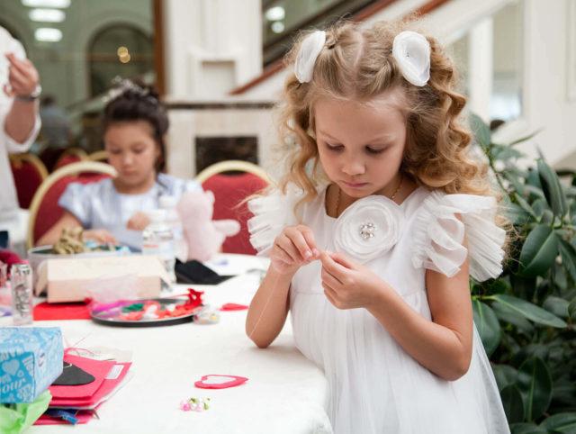 Open Hearts. Children raised money to help children's boarding schools